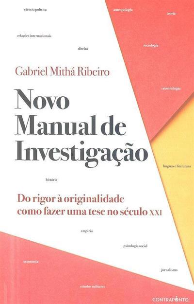 Novo manual de investigação (Gabriel Mithá Ribeiro)