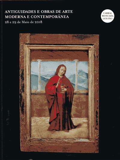 Antiguidades e obras de arte moderna e contemporânea