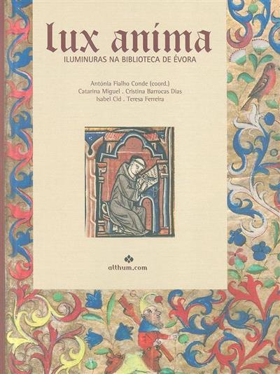 Lux anima (Antónia Fialho Conde... [et al.])