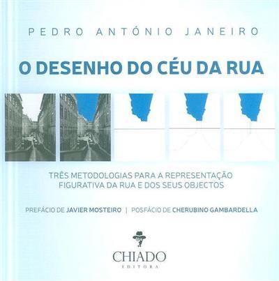 O desenho do céu da rua, três metodologias para a representação figurativa da rua e dos seus objectos (Pedro António Janeiro)