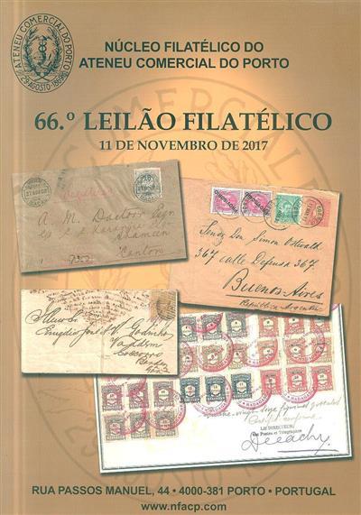 66º leilão filatélico (Núcleo Filatélico do Ateneu Comercial do Porto)