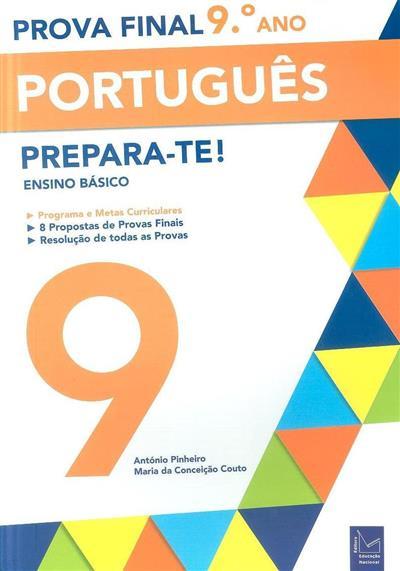 Prova final, português, 9º ano (António Pinheiro, Maria da Conceição Couto)