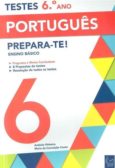 Testes 6º ano, português (António Pinheiro, Maria da Conceição Couto)