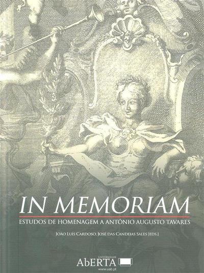 In memoriam (ed. João Luís Cardoso, José das Candeias Sales)