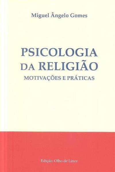 Psicologia da religião (Miguel Ângelo Gomes)