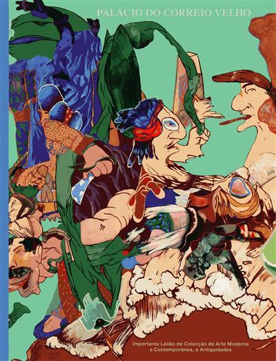 Importante leilão de colecção de arte moderna e contemporânea e antiguidades