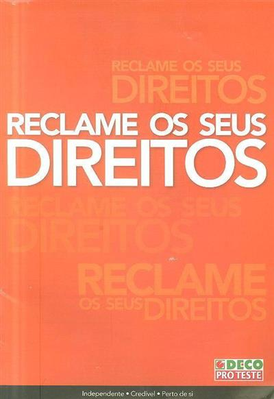 Reclame os seus direitos (il. Javier Vázquez)