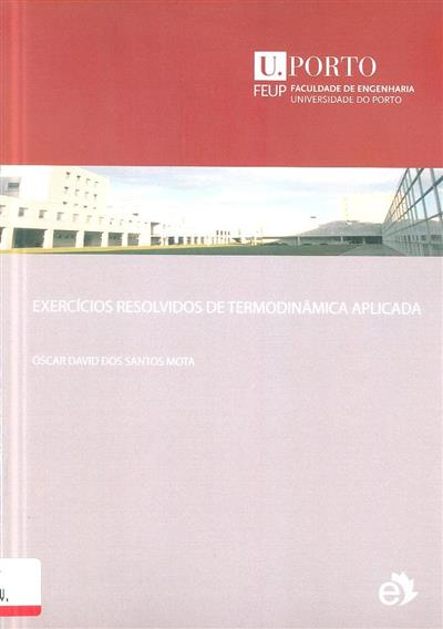 Exercícios resolvidos de termodinâmica aplicada (Óscar David dos Santos Mota)