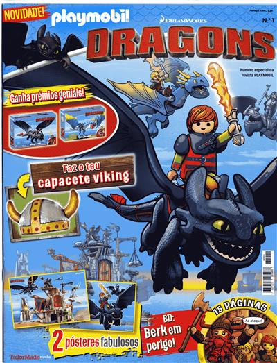 Playmobil dragons (ed. Tailor Made Media)