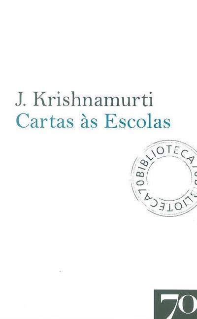 Cartas às escolas (J. Krishnamurti)