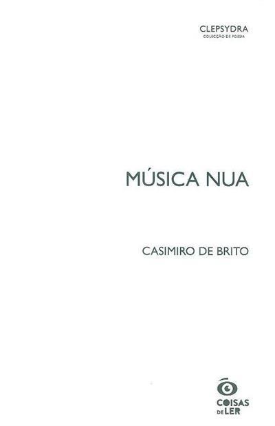Música nua (Casimiro Brito)