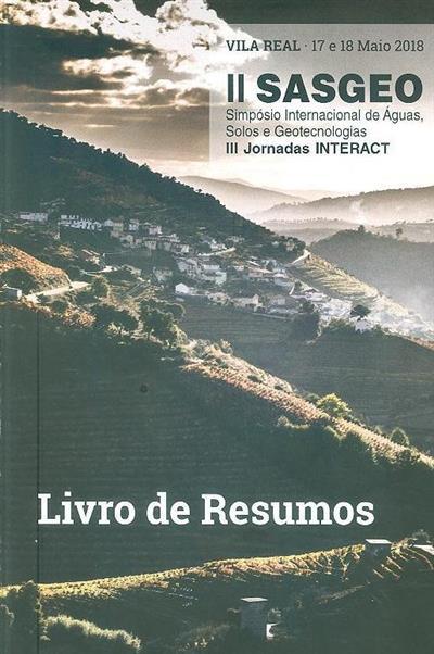 II Simpósio Internacional de Águas, Solos e Geotecnologias (SASGEO)