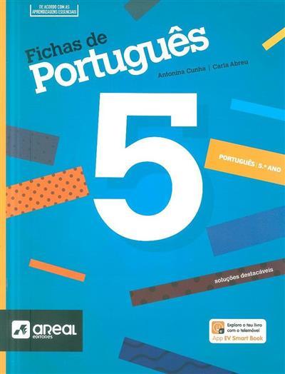 Fichas de português 5 (Antonina Cunha, Carla Abreu)