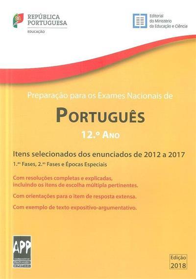 Preparação para os exames nacionais de português, 2012 a 2017 (Edviges Antunes Ferreira)