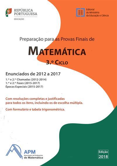 Preparação para as provas finais de matemática, 2012 a 2017