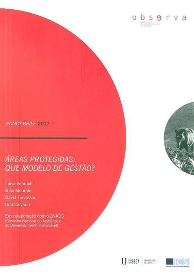 Áreas protegidas (Luísa Schmidt... [et al.])