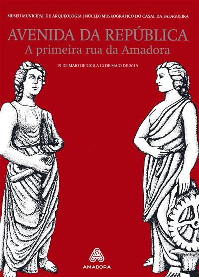 Avenida da República (investigação, textos, il. Gabriela Xavier)