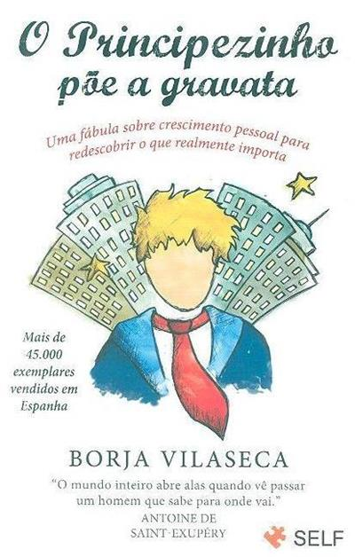 O principezinho põe a gravata (Borja Vilaseca)