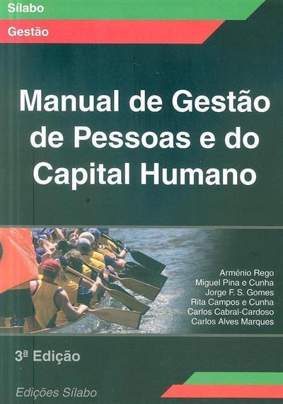 Manual de gestão de pessoas e do capital humano (Arménio Rego... [et al.])