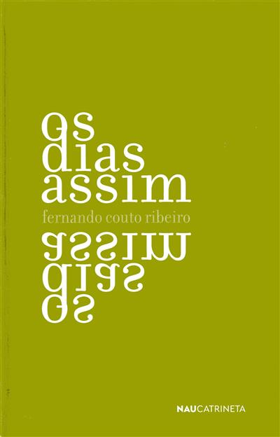 Os dias assim (Fernando Couto Ribeiro)