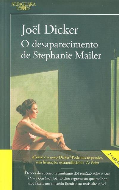 O desaparecimento de Stephanie Mailer (Joël Dicker)