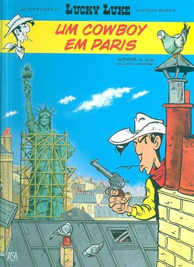 Um cowboy em Paris (des. Achdé)