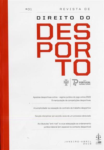 Revista de direito do desporto (propr. Federação Portuguesa de Futebol)