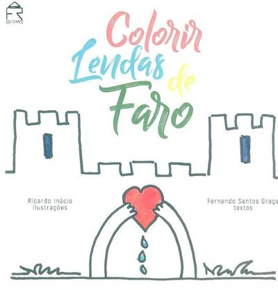 Colorir lendas de Faro (Fernando Santos Graça)