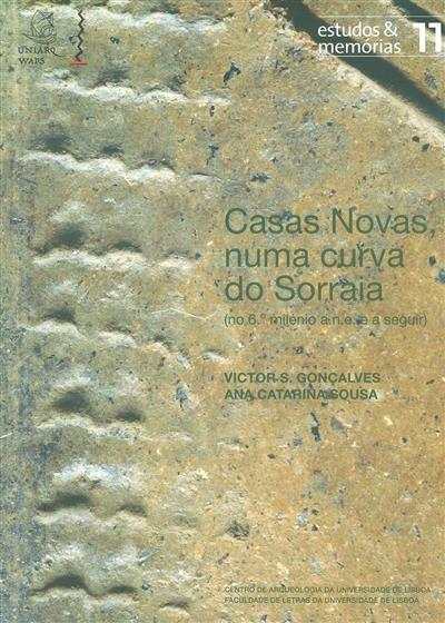 Casas novas numa curva do Sorraia (no 6 milénio a.n.e. e a seguir) (Victor S. Gonçalves, Ana Catarina Sousa)