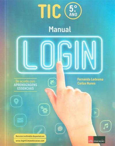 Manual login (Carlos Nunes, Fernanda Ledesma)