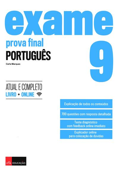 Prova final, português, 9º ano (Carla Marques)