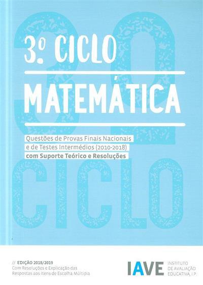 Matemática, 3º ciclo (Instituto de Avaliação Educativa)