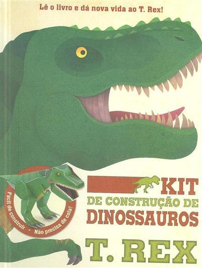 Kit de construção de dinossauros (il. Jonathan Woodward)