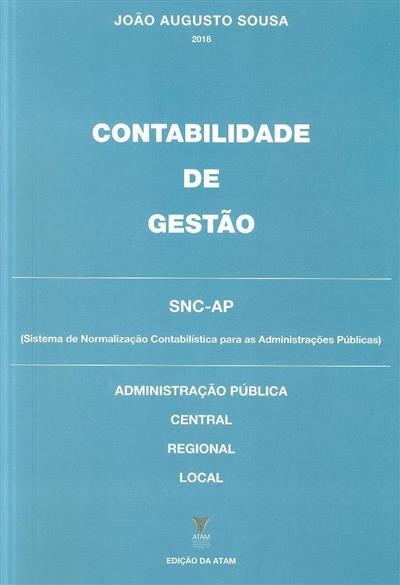 Contabilidade de gestão (João Augusto Sousa)