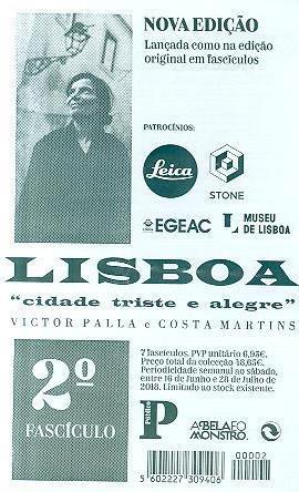 "Lisboa, ""cidade triste e alegre"" (Victor Palla, Costa Martins)"