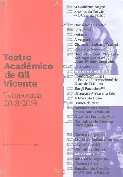 Teatro Académico de Gil Vicente (org. Teatro Académico de Gil Vicente)