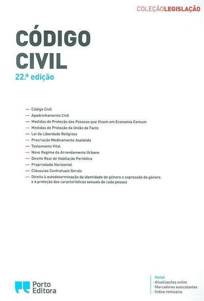 Código civil (coord. Isabel Rocha)
