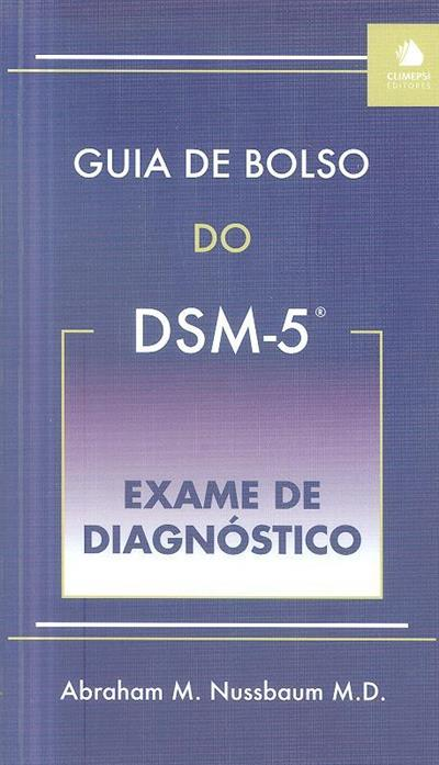Guia de bolso do DSM-5 (Abraham M. Nussbaum)