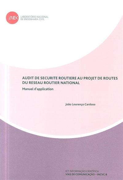 Audit de securite routiere au projet de routes du reseau routier national