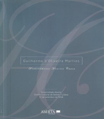 Guilherme d'Oliveira Martins (org. Conselho Editorial da UAb)