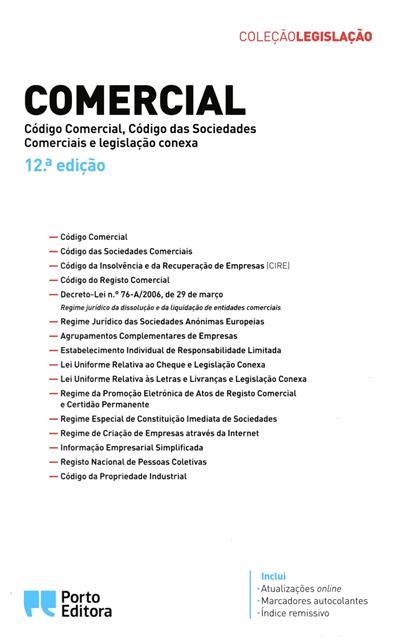 Comercial (coord. Isabel Rocha, Duarte Filipe Vieira)