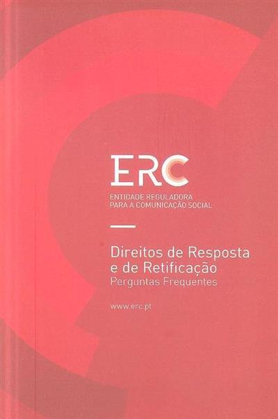 Direitos de resposta e de retificação (Entidade Reguladora para a Comunicação Social)