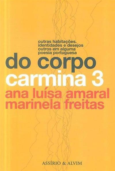 Do corpo (org. Ana Luísa Amaral, Marinela Freitas)