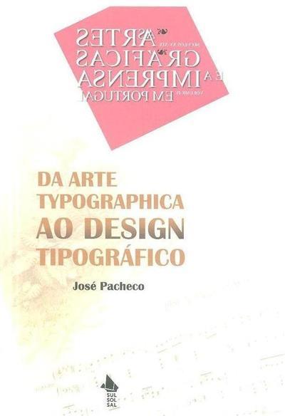 Da arte typographica ao design tipográfico (1890-1904) (José Pacheco)