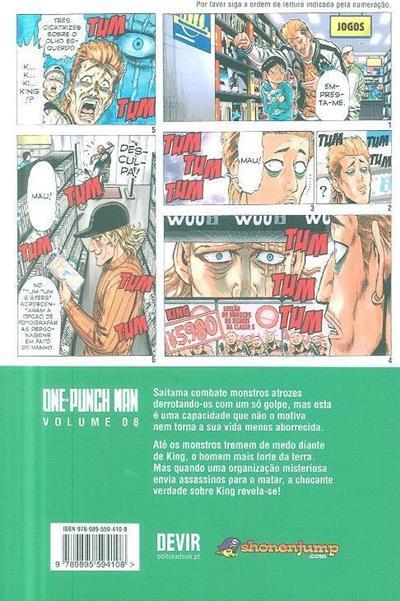 One-punch man (One, Yusuke Murata)