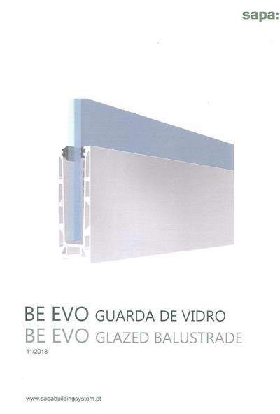 BE EVO guarda de vidro