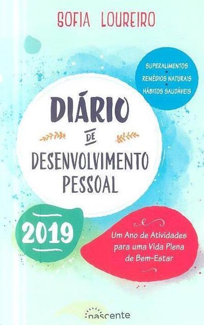 Diário de desenvolvimento pessoal 2019 (Sofia Loureiro)