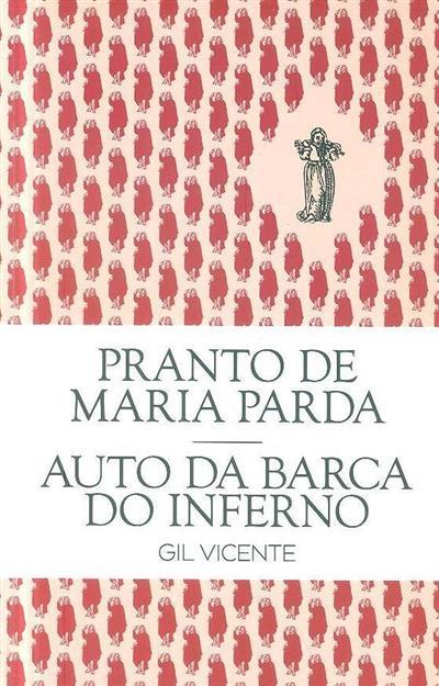 Pranto de Maria Parda ; (Gil Vicente)