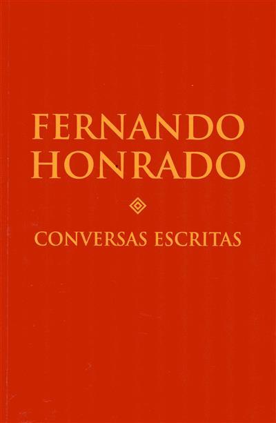 Conversas escritas (Fernando Honrado)