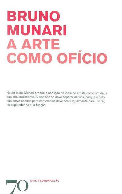 A arte como ofício (Bruno Munari)
